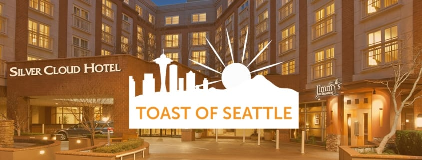 Toast of Seattle logo